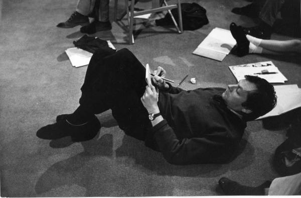 Richard on the floor